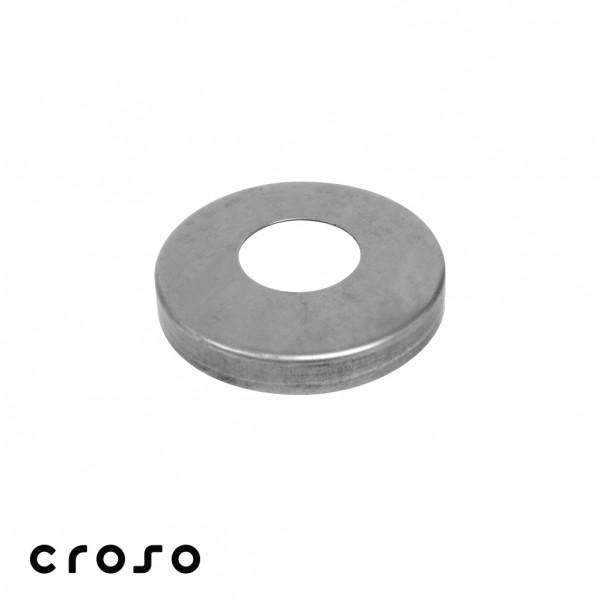 Rosette, Ø105mm, Rohr Ø33,7mm